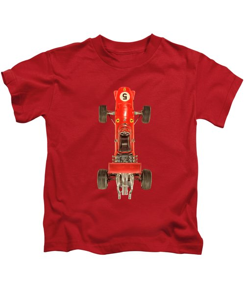 Schuco Ferrari Formel 2 Top On Black Kids T-Shirt