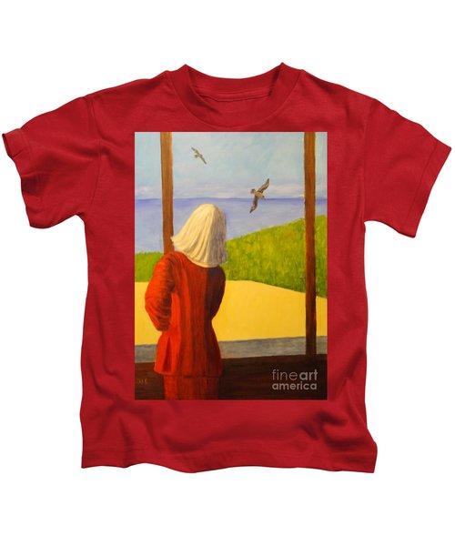 Seagulls - Bookcover Kids T-Shirt