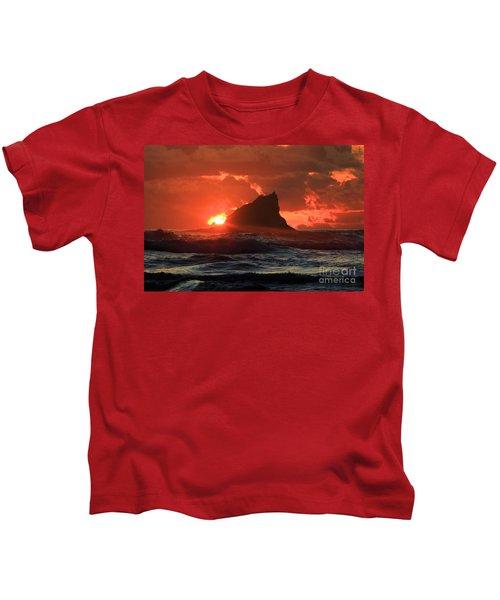 Second Beach Shark Kids T-Shirt