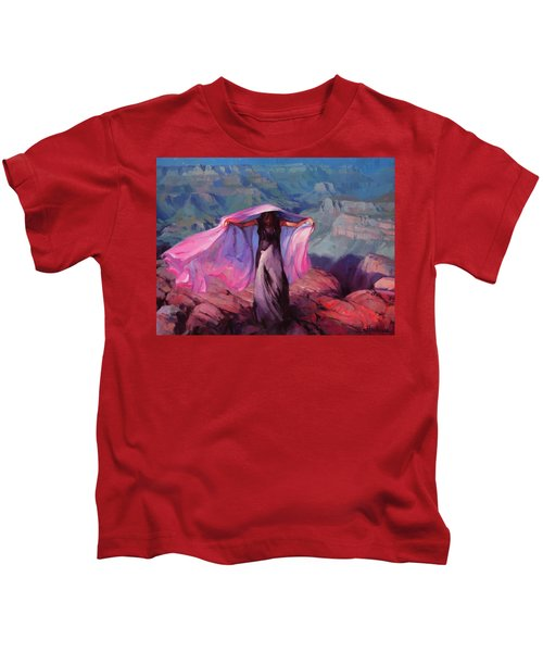 She Danced By The Light Of The Moon Kids T-Shirt