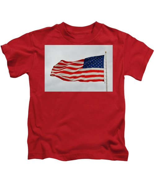 Sign Of Freedom Kids T-Shirt