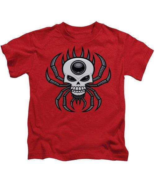 Skull Spider Kids T-Shirt