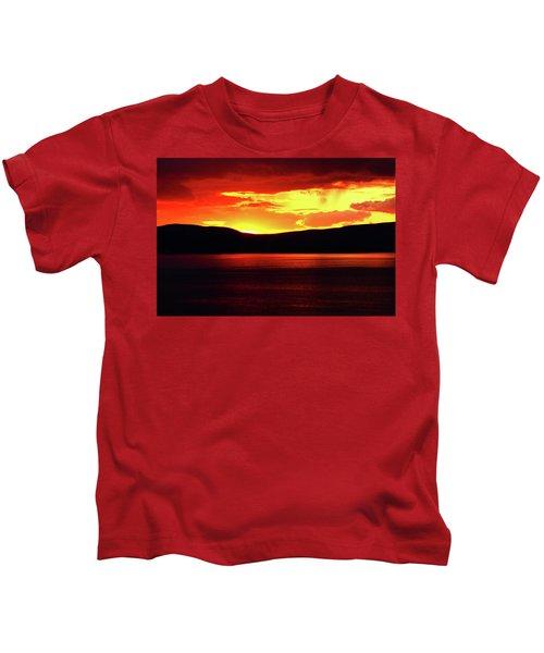 Sky Of Fire Kids T-Shirt