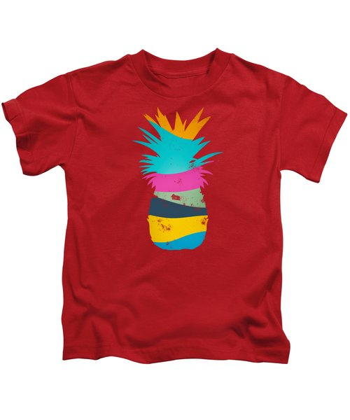 Sliced Ananas, Pineapple Kids T-Shirt