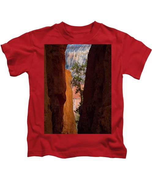 Sliver Of Bryce Kids T-Shirt