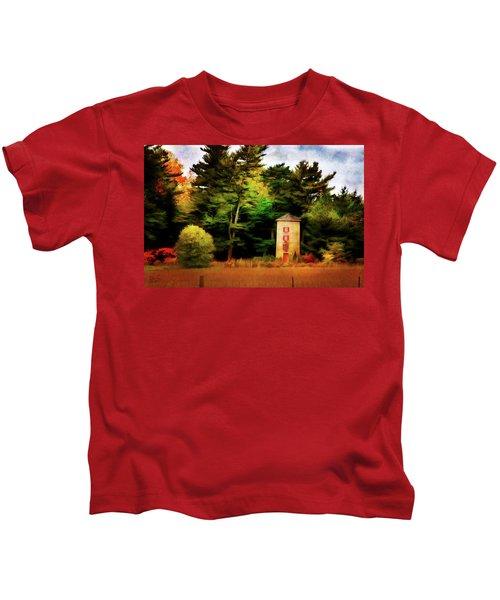 Small Autumn Silo Kids T-Shirt