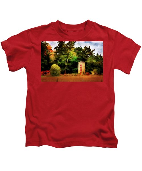Small Autumn Silo Kids T-Shirt