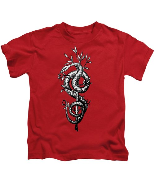 Snake Of Wisdom Kids T-Shirt