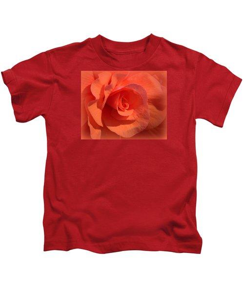 Soft Begonia Kids T-Shirt