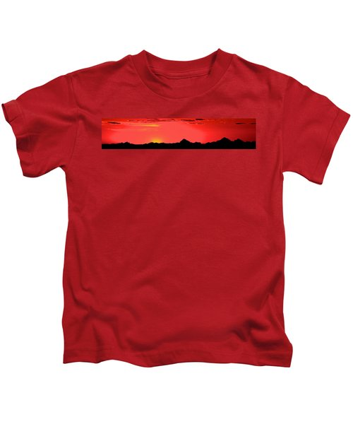 Sonoran Sunset  Kids T-Shirt
