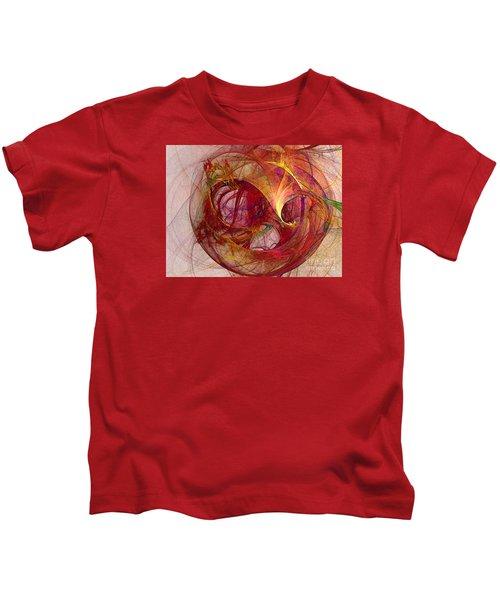 Space Demand Abstract Art Kids T-Shirt