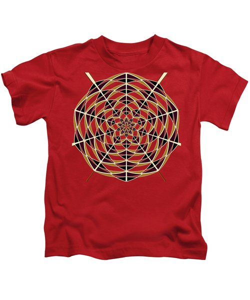 Spider Web Kids T-Shirt by Gaspar Avila