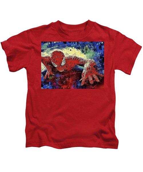 Spiderman Climbing  Kids T-Shirt