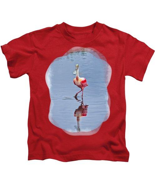 Spoonbill 2 Kids T-Shirt