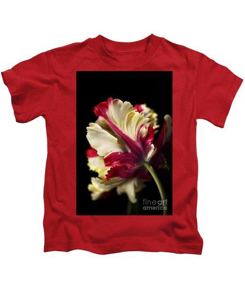 Spring Parrot Tulip Kids T-Shirt
