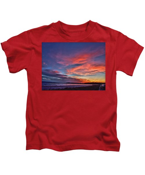 Spring Sunset Kids T-Shirt