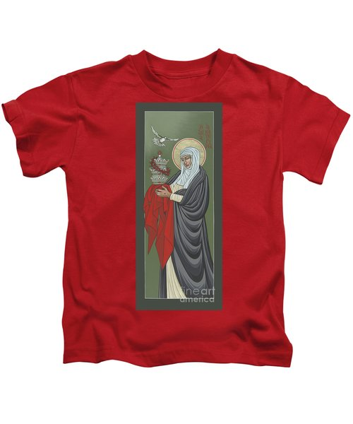 St Catherine Of Siena- Guardian Of The Papacy 288 Kids T-Shirt