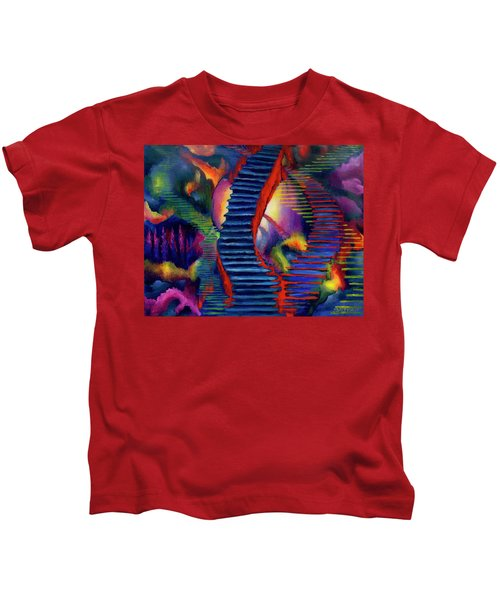 Stairways Kids T-Shirt