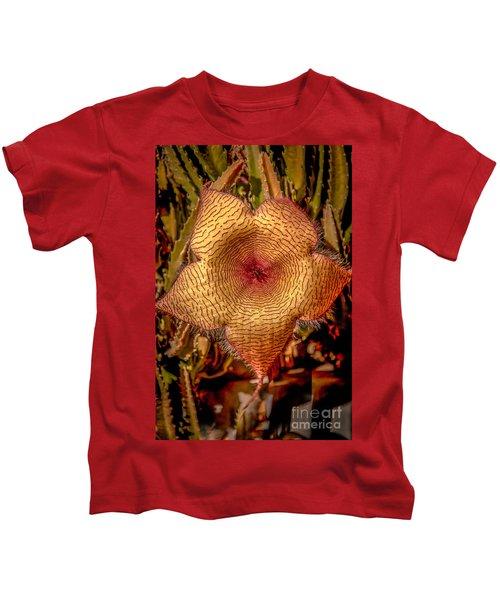 Star Flower Cactus Kids T-Shirt