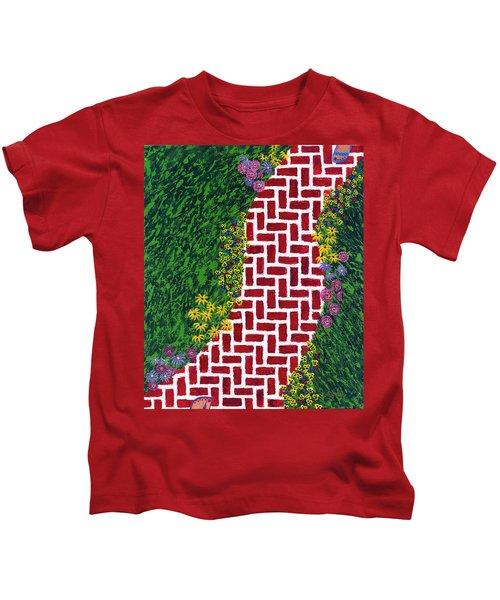 Step Into My Garden Kids T-Shirt