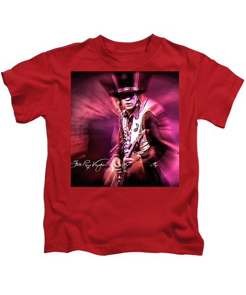 Stevie Ray Vaughan - Crossfire Kids T-Shirt