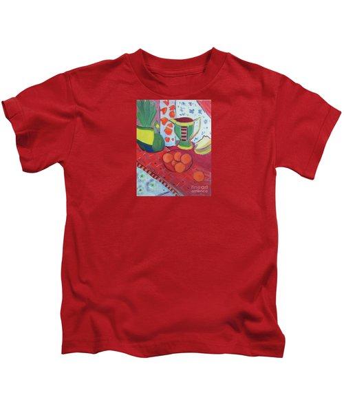 Still Life After Matisse Kids T-Shirt