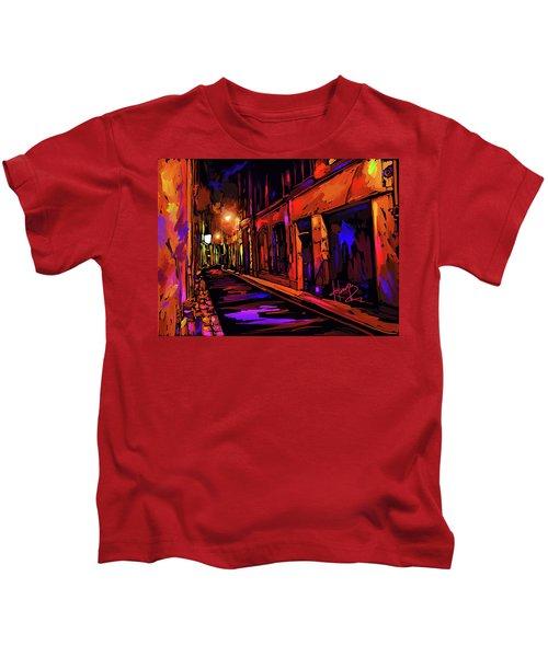 Street In Avignon, France Kids T-Shirt