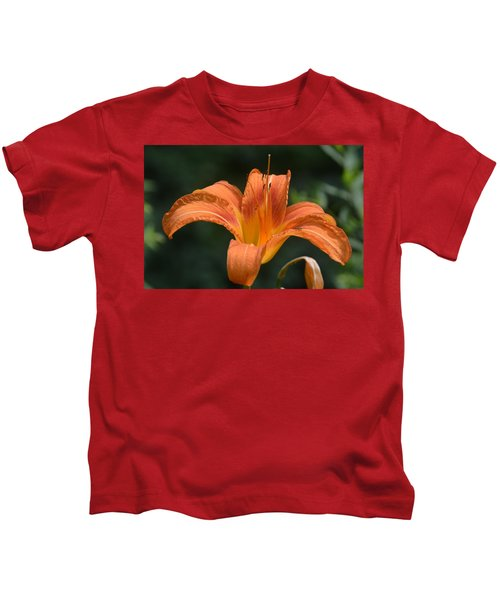 Summer Bloom-3 Kids T-Shirt