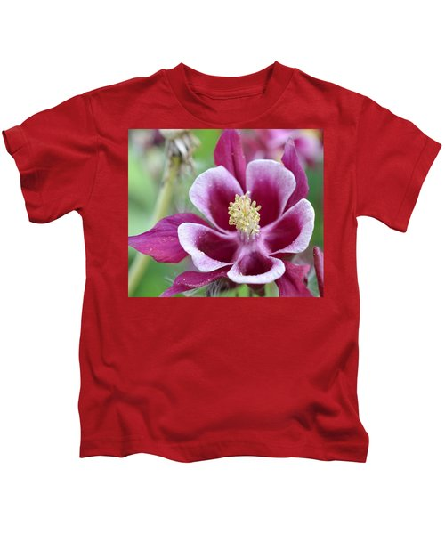 Summer Flower-2 Kids T-Shirt