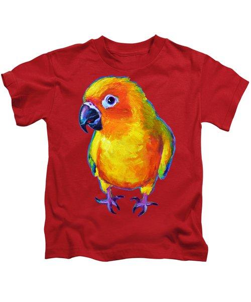 Sun Conure Parrot Kids T-Shirt