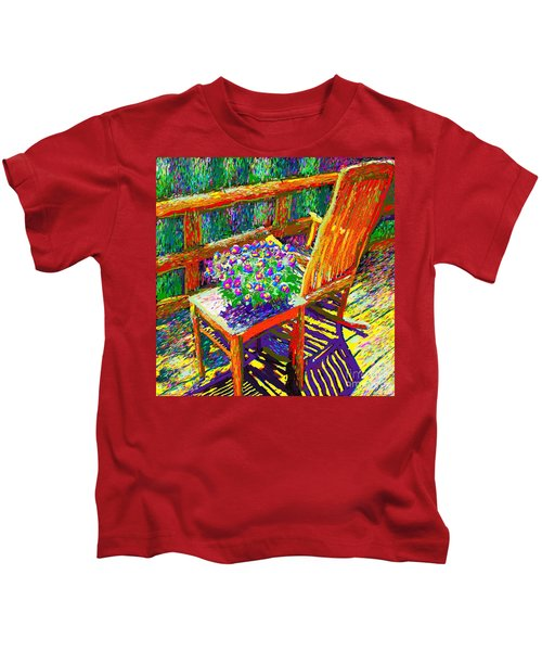 Sun Dance On Deck Kids T-Shirt