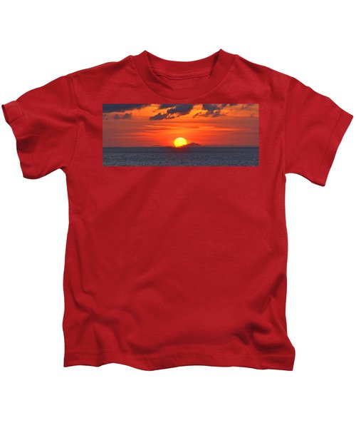 Sunrise Over Western Cuba Kids T-Shirt