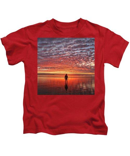 Sunrise Silhouette Kids T-Shirt