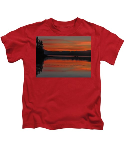 Sunset At Brothers Islands Kids T-Shirt