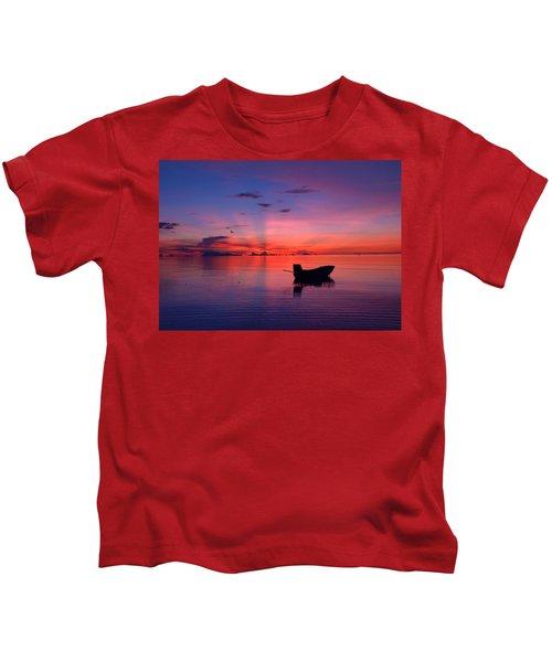Sunset Rays Kids T-Shirt