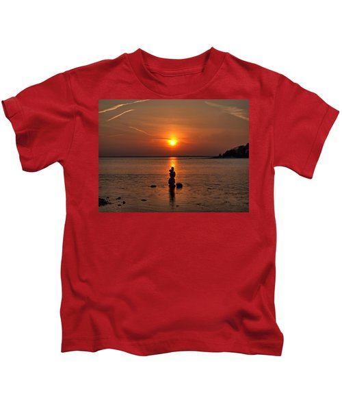 Sunset Zen Kids T-Shirt