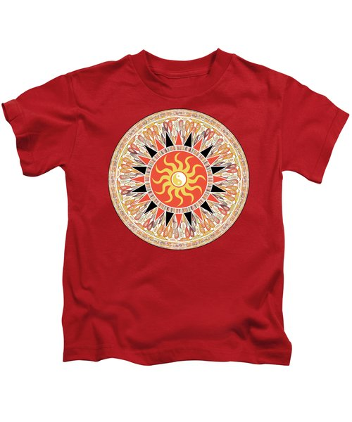 Sunshine Mandala Kids T-Shirt