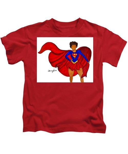 Superwoman I Am  Kids T-Shirt