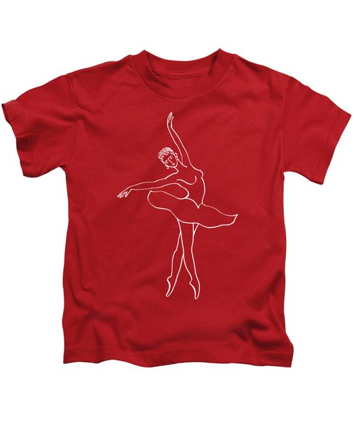 Swan Lake Dance Kids T-Shirt