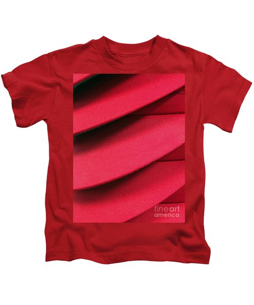 Swooshes And Shadows Kids T-Shirt