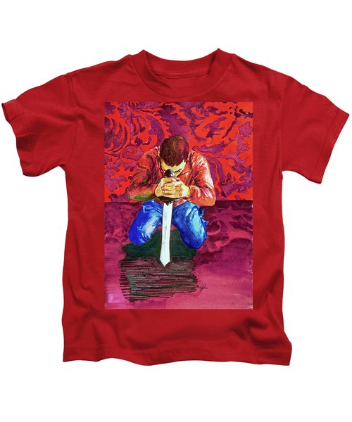 Swords On The Playground Kids T-Shirt