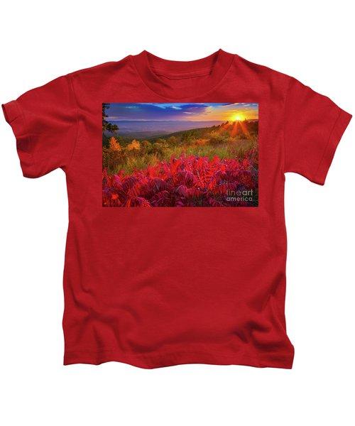 Talimena Evening Kids T-Shirt