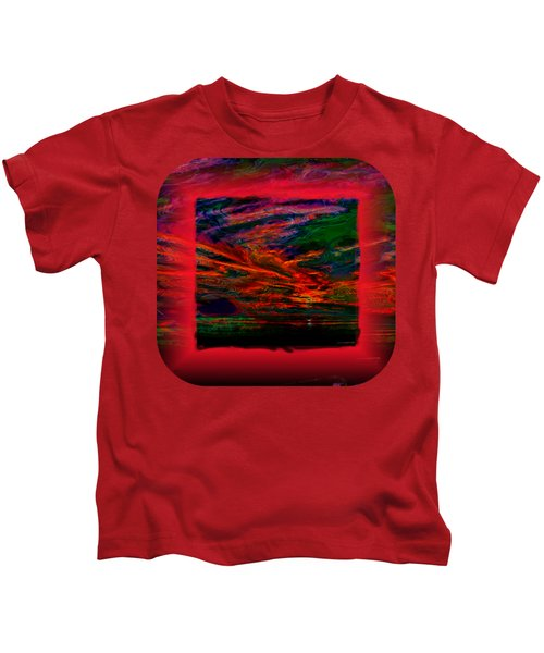 Technicolor Sunset 2 Kids T-Shirt