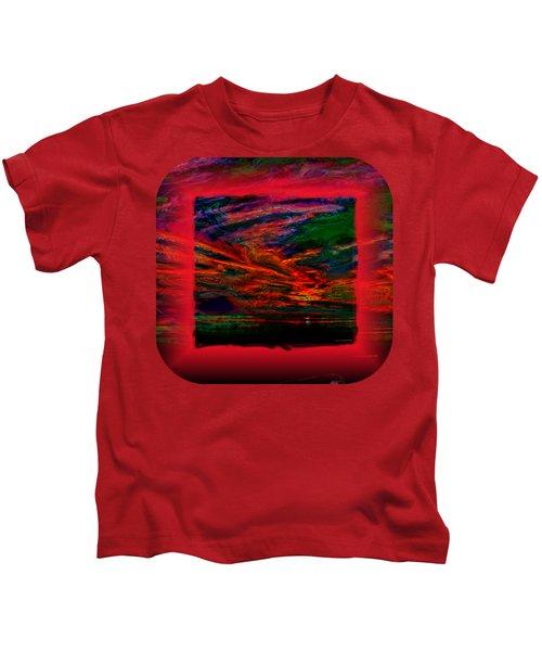 Technicolor Sunset 2 Kids T-Shirt