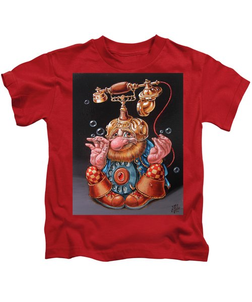 Telephonic Kids T-Shirt