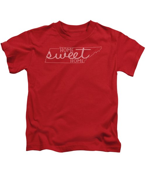 Tennessee Home Sweet Home Kids T-Shirt