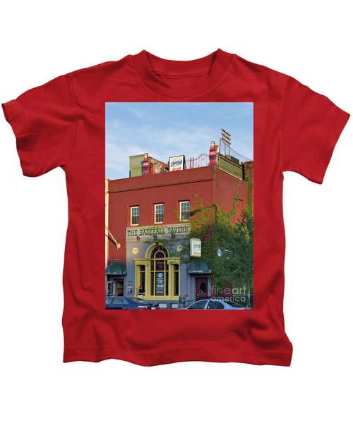 The Baseball Tavern Boston Massachusetts  -30948 Kids T-Shirt