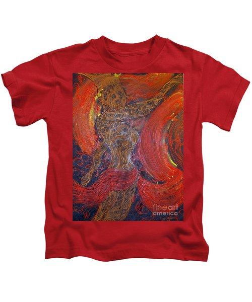 The Belly Dancer Kids T-Shirt