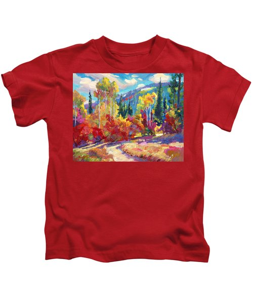 The Colors Of New Hampshire Kids T-Shirt