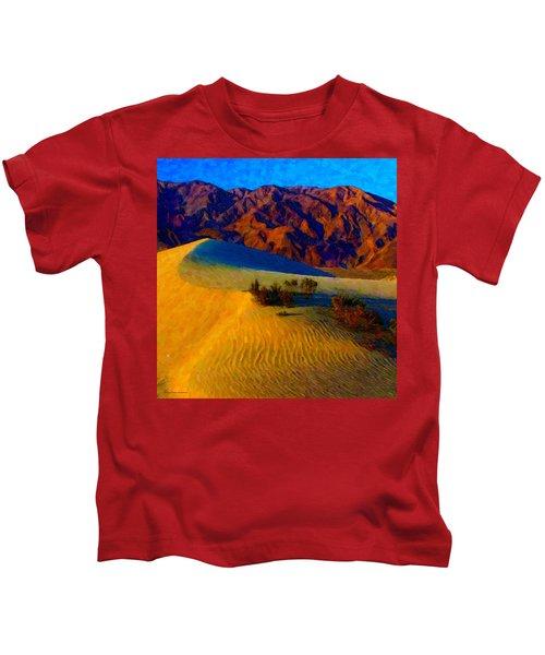 The Dunes At Dusk Kids T-Shirt